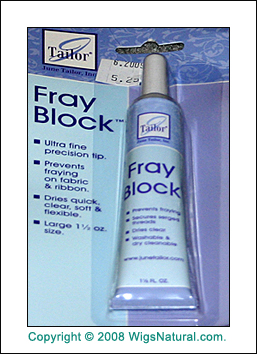 Fray-Block - Prevent Lace Edge from Fraying and Rubbing
