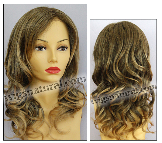 Envy lace front wig Alana, color shown frosted