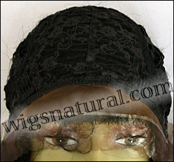 LACE WIG CH-RHEA, Sister Chiffon Double Lace Front Wig, Remy fiber lace front wig, color #1