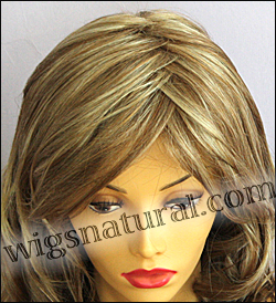 Envy lace front wig Alana, color shown dark blonde