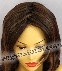 Envy lace front wig Alana, color shown cinnamon raisin
