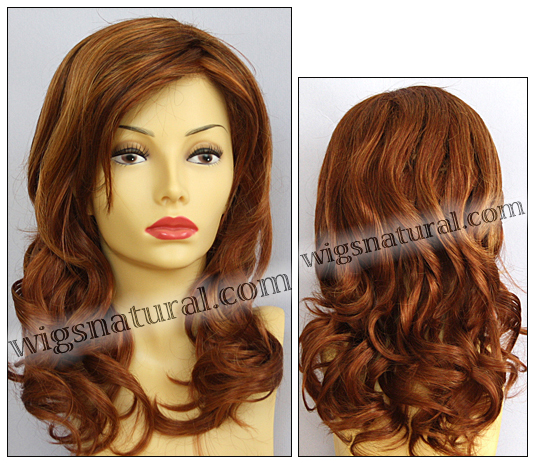 Envy lace front wig Alana, color shown lighter red
