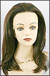 Lace Front Wig, Zury Lace Wig Medium, Synthetic hair, color F1B/30