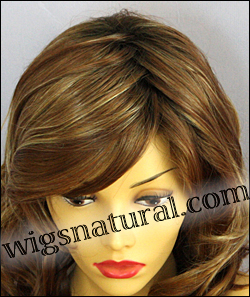Envy lace front wig Alana, color shown creamed coffee