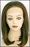Lace Front Wig, Zury Lace Wig Cali, Synthetic hair, color #4