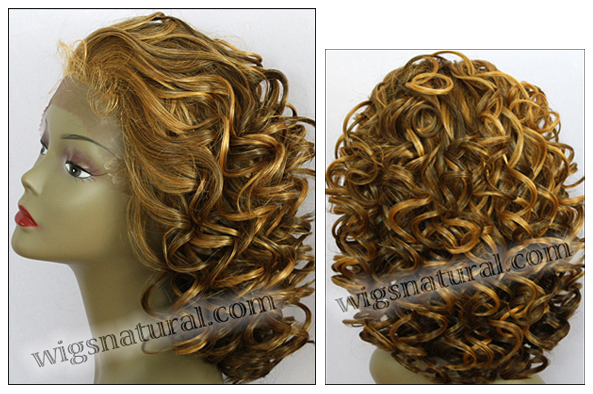 LACE WIG CH-RHEA, Sister Chiffon Double Lace Front Wig, Remy fiber lace front wig, color SF2016
