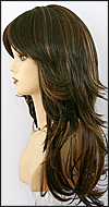 Synthetic wig Fashion Note, Forever Young wig collection, color HL4/27