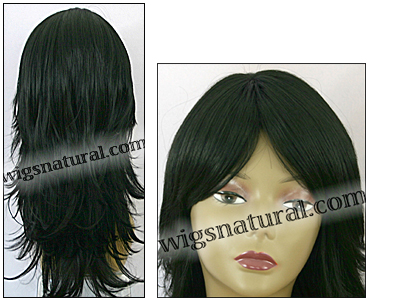 Synthetic wig Fashion Note, Forever Young wig collection, color #1