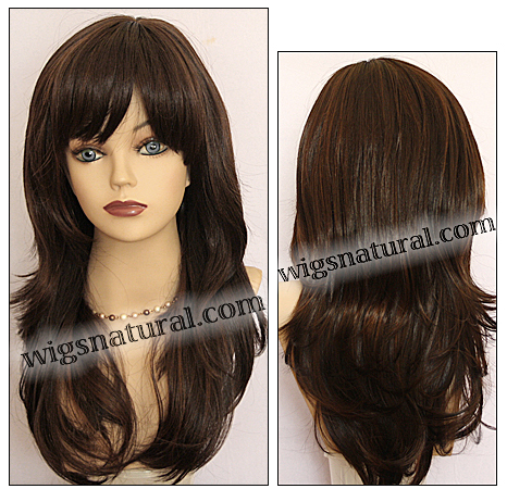 Synthetic wig Fashion Note, Forever Young wig collection, color HL4/30