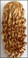 Ukrainian virgin hair lace wig, Russian virgin hair lace wig, wig style UR-LCBlond-BodyCurl-M26x24-24