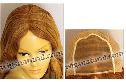 Full Hand-tied Monofilament wig, Virgin Brazilian Remy Hair, virgin European remy hair, or virgin Asian hair, wig style VWMN-Copper-bodyCurl-26HL26T22-26
