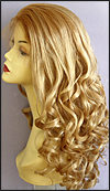Ukrainian virgin hair lace wig, Russian virgin hair lace wig, wig style UR-GBlonde-bodyCurl-14-26
