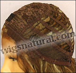 SEPIA Lace Front Wig LF-Isabella, Heat-Resistant Synthetic Fiber, color FS8/27/613