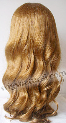 Silk top full lace wig, or Full lace wig, Virgin European hair, virgin Brazilian hair, or virgin Asian hair, style VW-LCopper-BodyWave-26M14-26