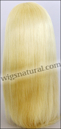 Silk Top Lace Front Wig, or lace front wig, Virgin European hair, virgin Brazilian hair, or virgin Asian hair, style VWLF-SilkStraight-19-22