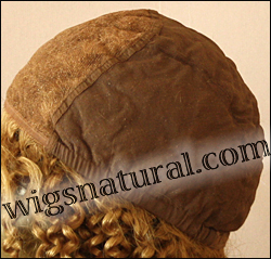 Glueless Lace Front Wig, Virgin European hair, virgin Brazilian hair, or virgin Asian hair, style VWGL-MBlond-curly-11NHL10N-22