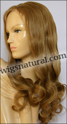 Full Hand-tied Monofilament wig, Virgin Brazilian Remy Hair or virgin European remy hair, style VWMN-EuMGBlond-10NT10-24
