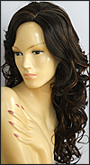 Synthetic wig VISAGE, Forever Young wig collection, color HL4/30