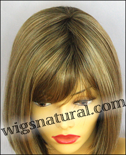 Envy mono part wig Petite Paige, color shown toasted sesame