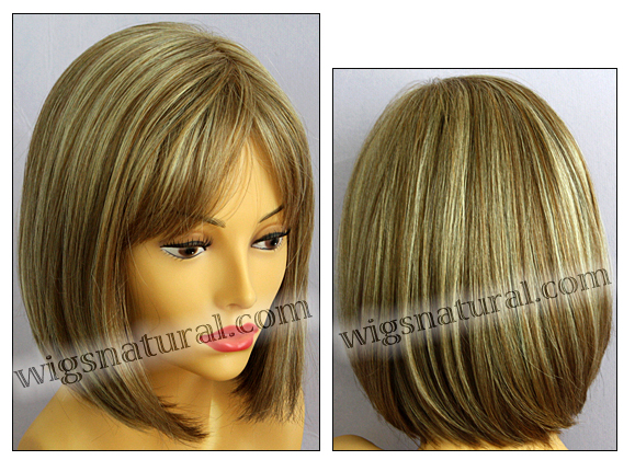 Envy mono part wig Petite Paige, color shown dark blonde
