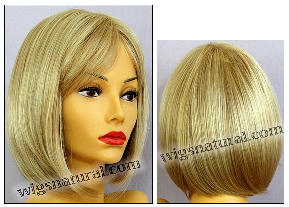 Envy mono part wig Petite Paige, color shown medium blonde
