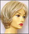 Envyhair wig Kylie, Mono top hand-tied sides and back wig, color light blonde