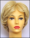 Envyhair wig Kylie, Mono top hand-tied sides and back wig, color medium blonde