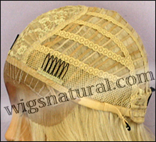 SEPIA Lace Front Wig SOFIA, Heat-Resistant Synthetic Fiber, color #613