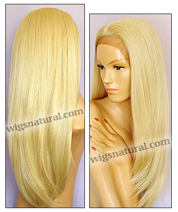 SEPIA Lace Front Wig DAHLIA, Heat-Resistant Synthetic Fiber, color #613