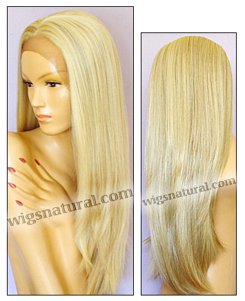 SEPIA Lace Front Wig DAHLIA, Heat-Resistant Synthetic Fiber, color FS613/27
