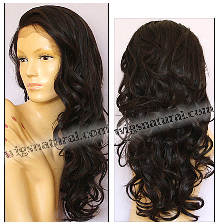 SEPIA Lace Front Wig SOFIA, Heat-Resistant Synthetic Fiber, color #4