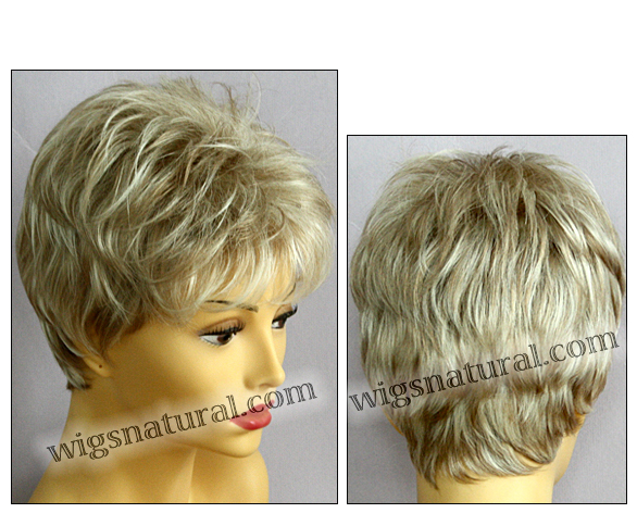 Envy open top wig Penelope, color shown light blonde
