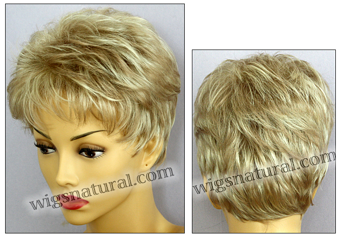 Envy open top wig Penelope, color shown medium blonde