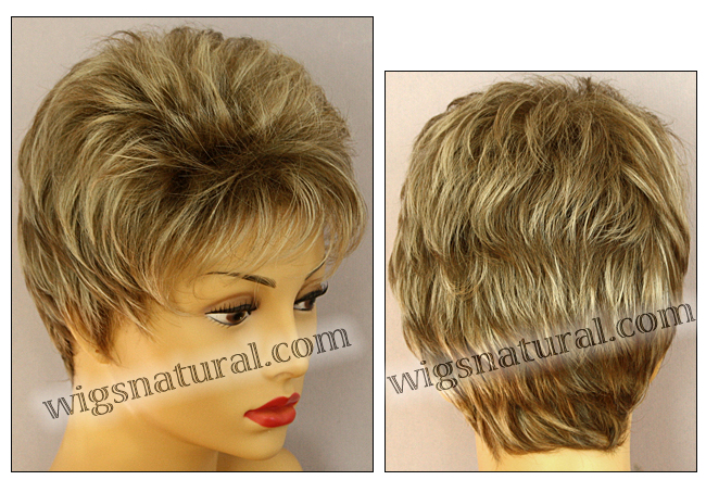 Envy open top wig Penelope, color shown dark blonde