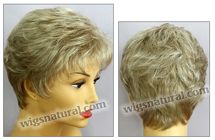 Envy mono top with lace front wig Jeannie, color shown light blonde