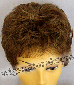 Envy mono top with lace front wig Jeannie, color shown light brown
