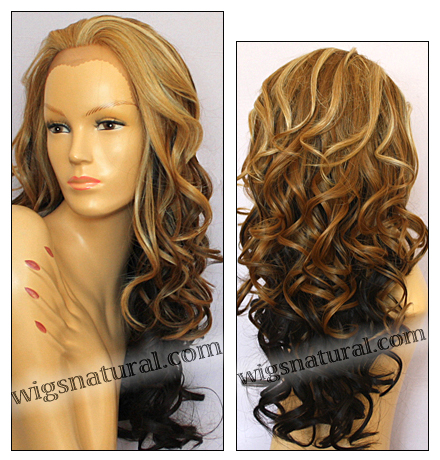 SEPIA Lace Front Wig SOFIA, Heat-Resistant Synthetic Fiber, color F2032