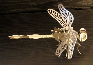 Laser Cut Dragonfly Puzzle