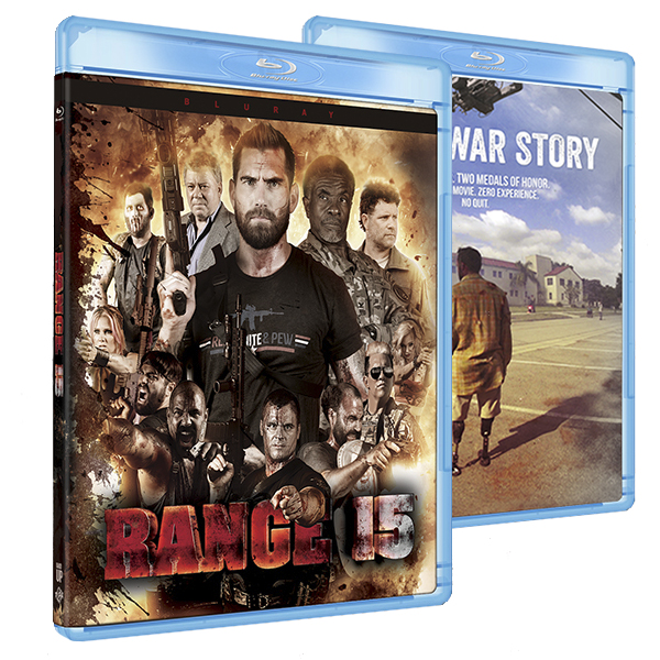 Range 15 and Not a War Story Blu Ray Combo