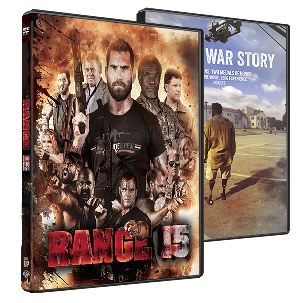 Range 15 and Not a War Story DVD Combo