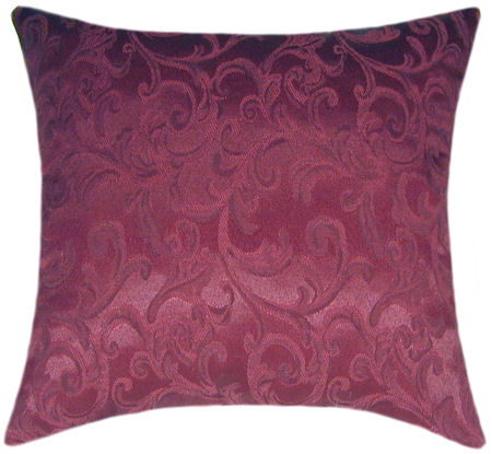 Throw Pillows For Burgundy Couch : Prospect Burgundy Accent Pillow - Sofa Pillow, Throw Pillow
