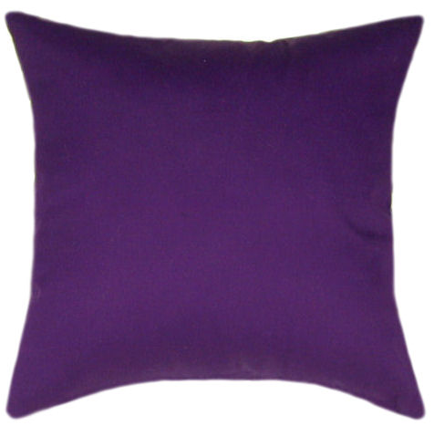 Purple Decorative Pillow : Art Purple Throw Pillow - Decorative Pillow, Accent Pillow