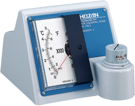 HOZAN H-761 Analog Thermometer for Soldering Irons
