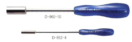 HOZAN D-860-10 Nut Driver, M6 (Discontinued)
