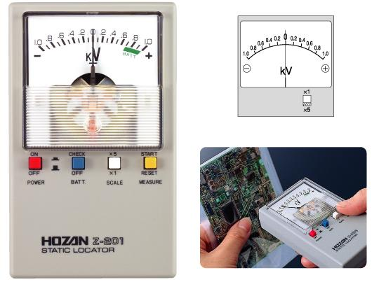 HOZAN Z-201-TA Static Locator with Calibration Certificate