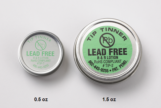 R&R LOTION Lead-free Tip Tinner, 1-1/2oz