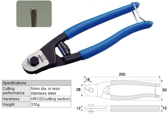 HOZAN N-16 Wire Cutter