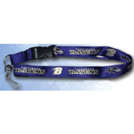 Team Logo Lanyard (Necklace Keychain) - NFL Baltimore Ravens