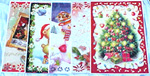 "Large 3D Music & Light-up Christmas Greeting Cards 11"" x 15"""