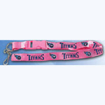 Team Logo Lanyard (Necklace Keychain) - NFL Tennessee Titans